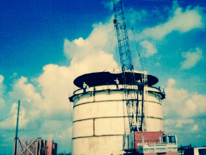 Construction of Elevated Storage Tank